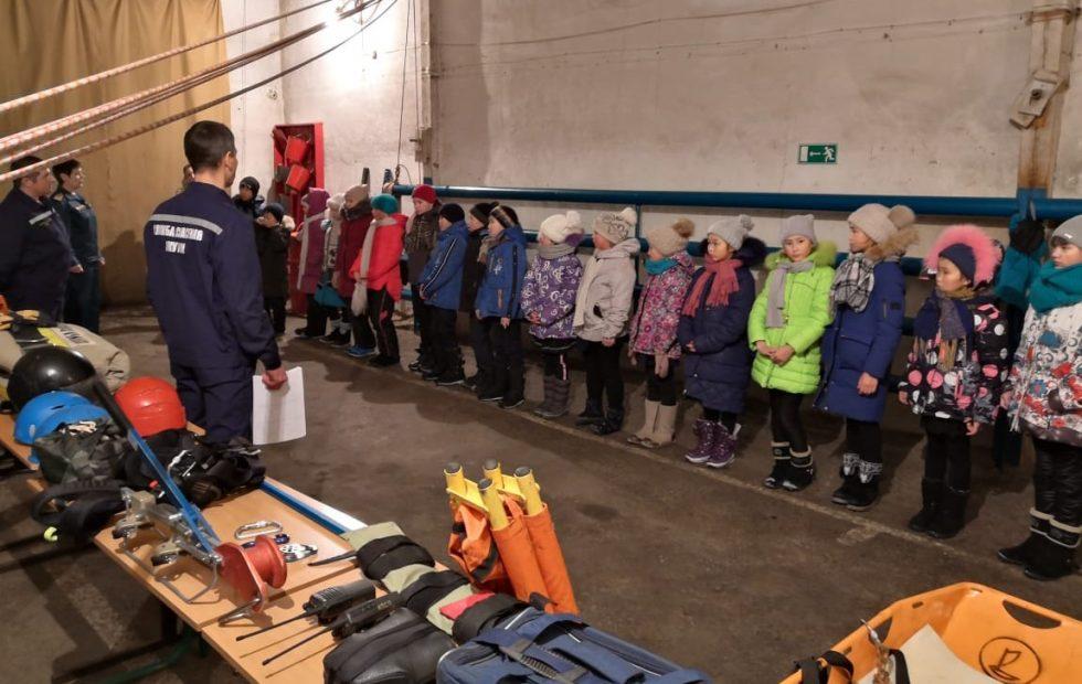Экскурсия к сотрудникам Алданского поисково – спасательного отряда  Республики Саха (Якутия)
